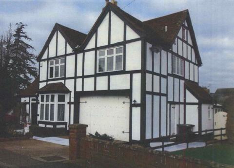 External view of property in Shefford