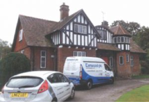 Dry rot eradication services in Marlow