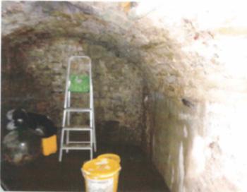 Vault tanking treatment before
