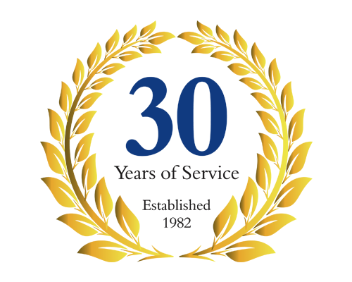 Kenwood PLC 30 Years of Service