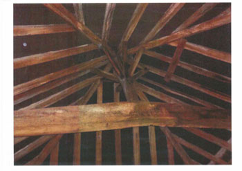 Timber sprayed with insecticide at Harefield Church