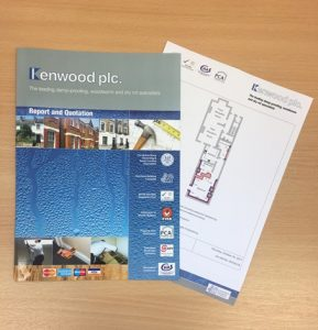 Kenwood Damp Proofing Leaflet