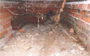 Dry rot eradication in Marlow
