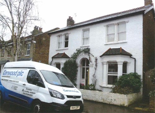 Detached House in Teddington treated for rising damp