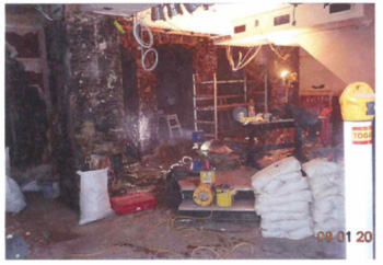 basement tanking and re-plastering systems