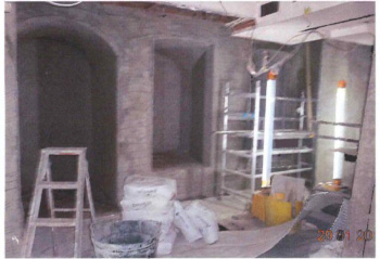 basement tanking and re-plastering systems after treatment