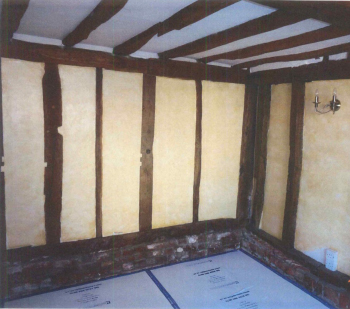 Internal view of house in Dunmow