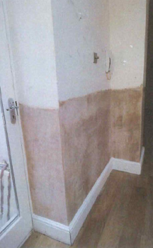 removal of the skirting boards