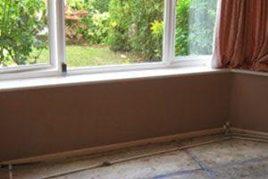 Damp Proofing Wall underneath Window