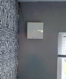 Unit Fitted To Wall Example